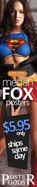 Megan Fox posters are on sale at postergods.com