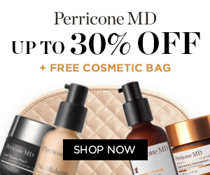 Build your own Perricone MD prescription and save up to 30%. Simply add 2, 3 or 4 full price products to your basket, select the corresponding promo code and apply it within the checkout. It is that simple. Click here to find out more!