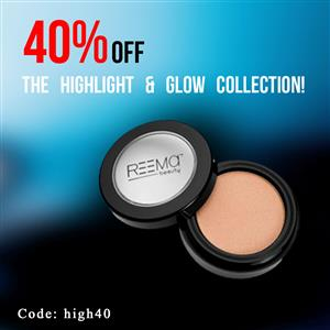 40% off the highlight & glow collection!