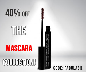 40% off the Mascara Collection!