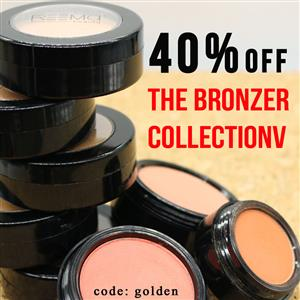 40% off the Bronzer Collection