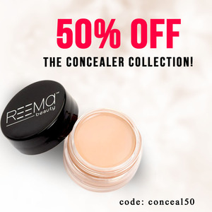 50% off the Concealer collection!