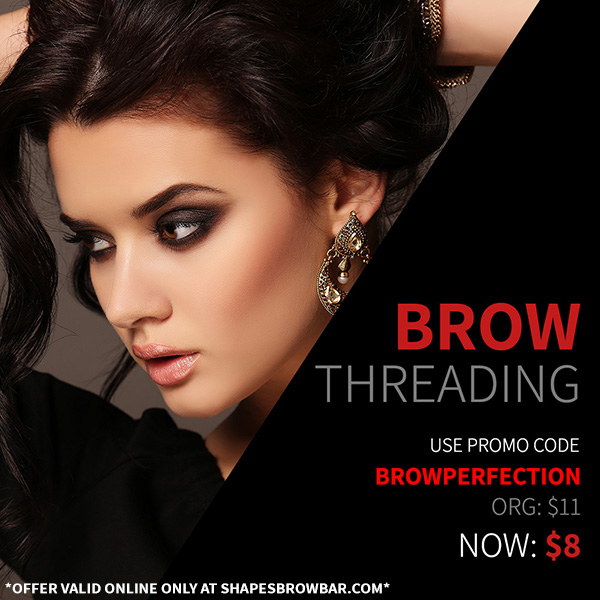 Brow Perfection for only $8!