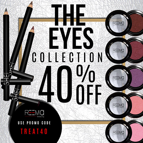 40% off the Eyes Collection!