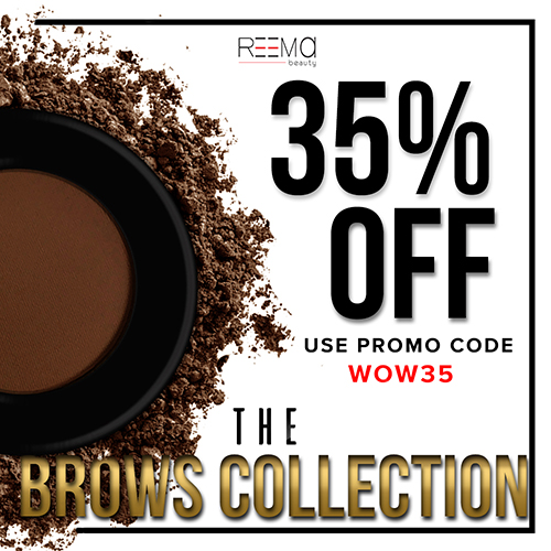35% off the Brows Collection
