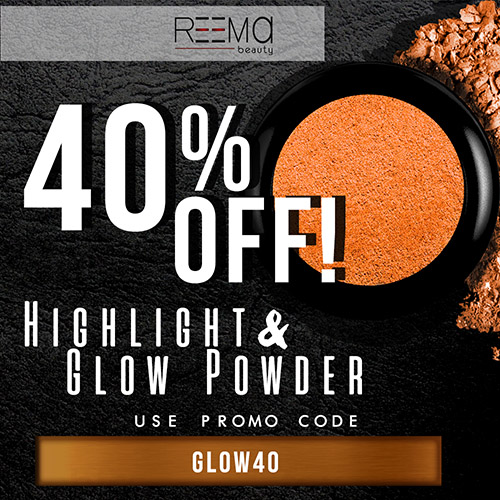 40% off the Highlight and Glow Powder