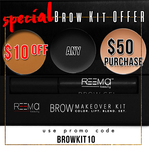 $10 off Brow Kit with $50 purchase