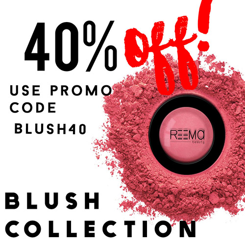 40% off the Blush collection!