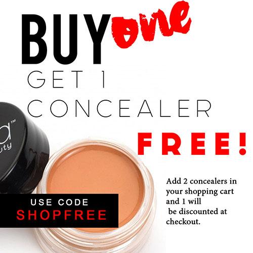 Buy 1 concealer get 1 free!