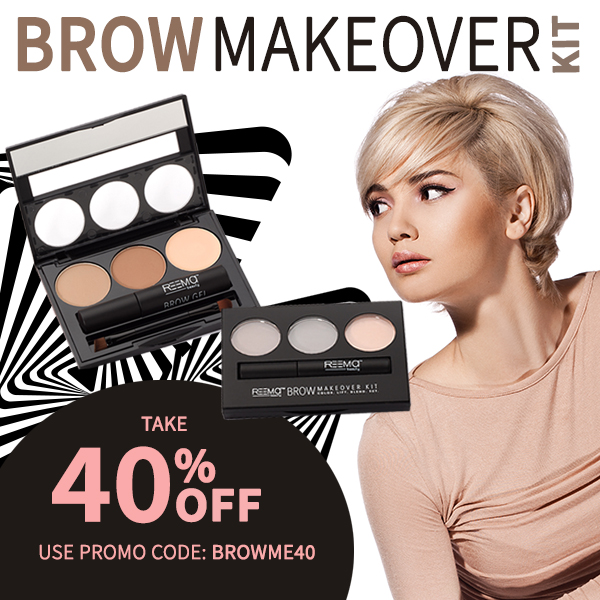 40% off the Brow Makeover Kit!