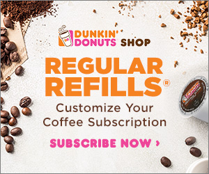 Shop the Official Dunkin' Donuts Shop Today!