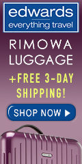 Rimowa Luggage and Free 3-Day Shipping