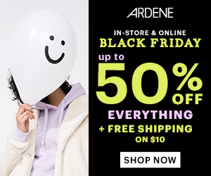 Get Up To 50% Off Everything PLUS Free Shipping over $10 orders