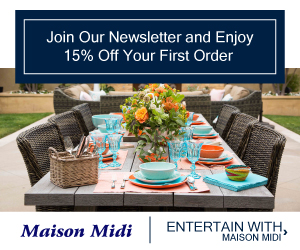 Entertain With Maison Midi - Shop Now