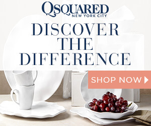 15% Off for New Subscribers | Q Squared NYC Ruffle Melamine Dinnerware