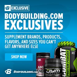 Bodybuilding.com Exclusive Brands 250 x 250