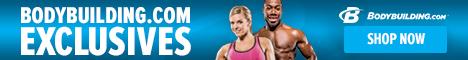 Bodybuilding.com Exclusive Brands 468 x 60