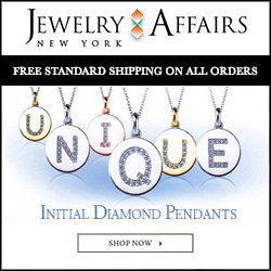 JewelryAffairs Gold Initial Necklaces