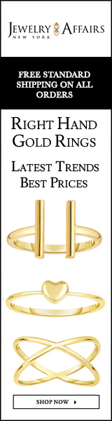 JewelryAffairs Yellow Gold Right hand Rings-160 x 600