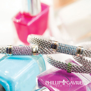 JewelryAffairs Phillip Gavriel Womens Popcorn Rings And Bracelets