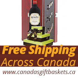 Free Shipping Gift Baskets Canada