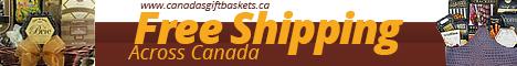 Christmas Free Shipping Gift Baskets Canada