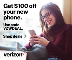 Get $100 off your new phone banner - 300x250