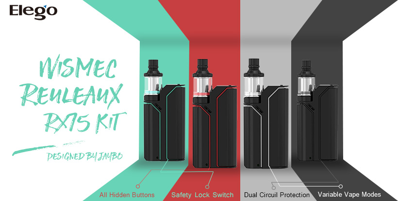 Wismec Reuleaux RX75 Kit Designed by Jaybo