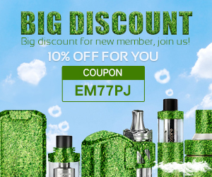 10% Discount for New, Go Green!