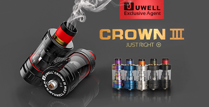 Uwell Crown 3 Tank, Only in Elego!