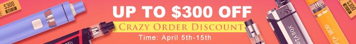 Crazy Order Discount!