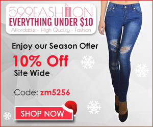 599fashion.com - 10% OFF our Already Affordable Products