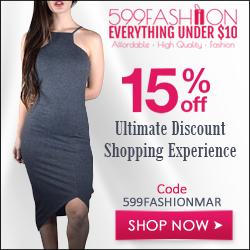 599fashion.com - 15% Off 250x250 banner