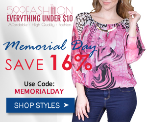 599fashion memorial day