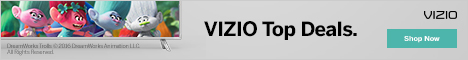 VIZIO.com Top Display and Audio Deals!