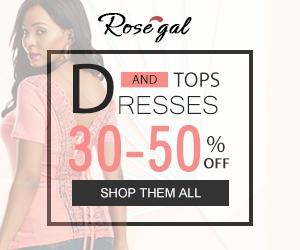 Rosegal banner
