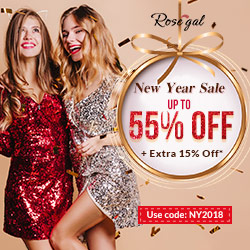 Rosegal New Year Sale