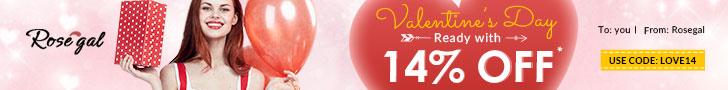 Rosegal Valentine's Day Sale