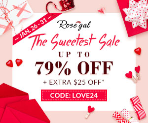 Rosegal Valentine's Day Sale