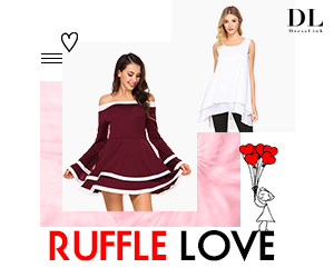 Sweet Ruffle Love Collections