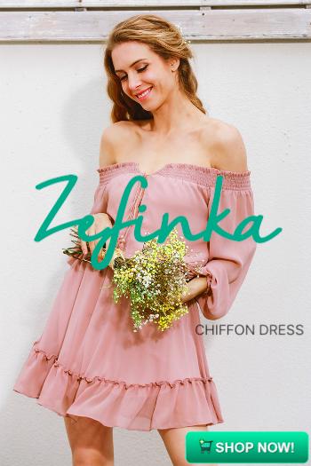 Short Chifon Vintage Dress