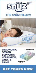 SNUZ Pillow- Get your best night's sleep.