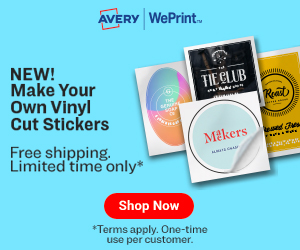 Shop Avery WePrint Now!