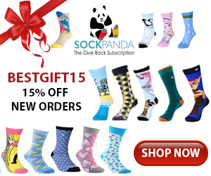 Sock Panda BESTGIFT15 - 15% off new subscriptions