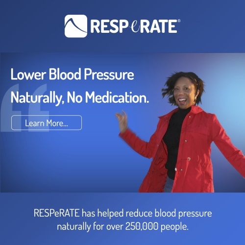 I lowered my blood pressure naturally with RESeRATE