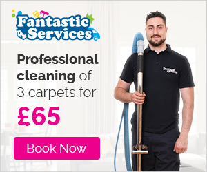 Professional cleaning of 3 carpets for £65
