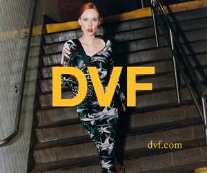Diane von Furstenberg - DVF USA banner