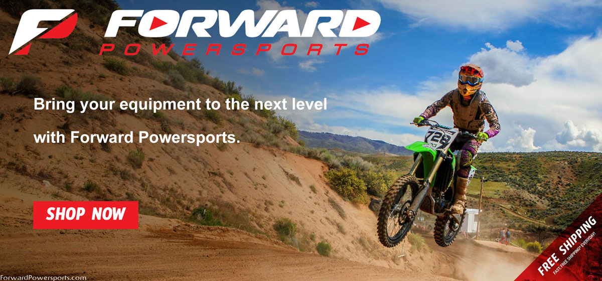 Bring your equipment to the next level with Forward Powersports.