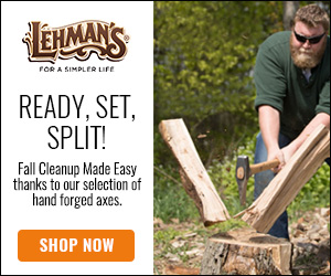 Fall Cleanup Made Easy with Hand Forged Axes at Lehman's!