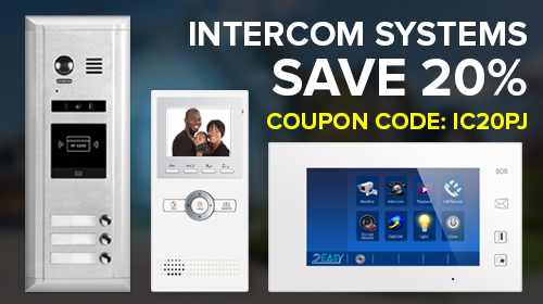 Buy now Intercom systems with 20% OFF